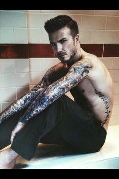 New H & M advert - David Beckham