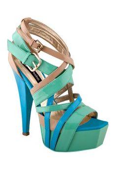 ZIGIny Ravish Multicolor Sandal