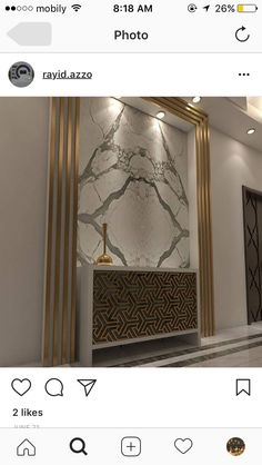Foyer Design, Lobby Design, Ceiling Design, Wall Design, Marble Interior, Lobby Interior, Interior Walls, Classic Interior, Modern Interior