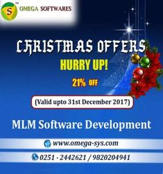 """""""Best Christmas offer"""" budget package of MLM Software (Mumbai)"""
