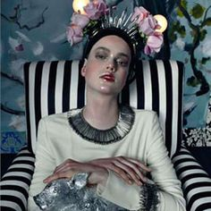 Wasted Luxury Julia Saner photographed by Steven Meisel for Vogue Italia March 2011 Steven Meisel, Knit Fashion, Fashion Art, Editorial Fashion, Disco Fashion, Queen Fashion, Quirky Fashion, Dope Fashion, Fashion Spring