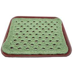 $1.99 - Julie's Serving Tray Mat - A Crochet pattern from jpfun.com