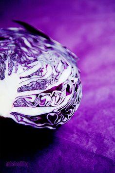 Purple Cabbage, via Flickr - purple heaven