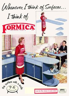 I, for one, am always thinking about Formica.