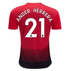 23492690e7b Manchester United 18 19 Home Men Soccer Jersey Personalized Name and Number