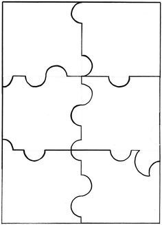 9 Piece Jigsaw Pattern By Bird See More Puzzle 6 Ou 12 Pieces A Imprimer Au Dos De Limage Votre Choix