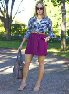 Cute color combo. Not a fan of the booties.  workday.weekend: Initial Transitions