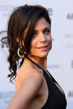 Bethenny Frankel Half Up Half Down