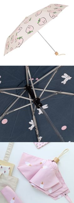 This umbrella will be your cutest and helpful companion on rainy days and sunny days too as it is also UV protective!