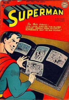 1947-11 - Superman Volume 1 - #49 - Toyman And the Gadgets of Greed #SupermanFan #SupermanComics #Superman #ComicBooks #DCComics