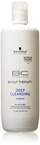 Schwarzkopf 16627300744 BC Scalp Therapy Deep Cleansing Shampoo  For Oily Scalps  1000ml338oz * Read more  at the image link.