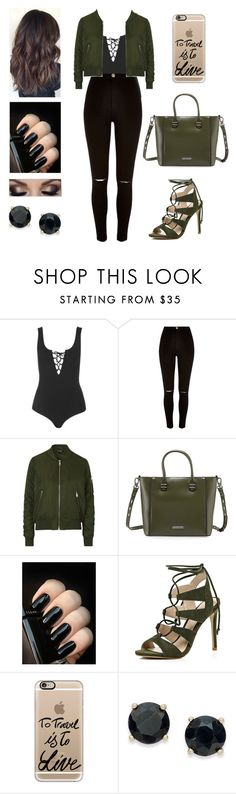 """""""Happy New Year!!!!"""" by aminataremy ❤ liked on Polyvore featuring Topshop, River Island, Charles Jourdan, Casetify and Victoria Townsend"""