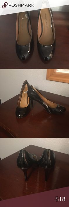 Chinese Laundry Pumps Black patent leather pumps, great condition. Worn no more than twice, one time was worn on carpet only. Very little wear. Chinese Laundry Shoes Heels