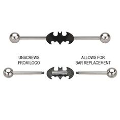 DC Comics Batman Industrial Barbell