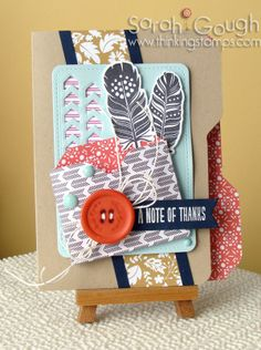 Envelope Punch Board File Card and Envie