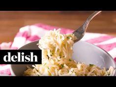 Cooking Parmesan-Garlic Ramen Video – Parmesan-Garlic Ramen Recipe How To Video