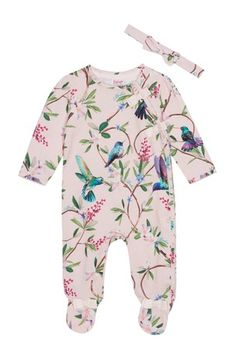 7132be5c2 Buy baker by Ted Baker Floral All Over Print Sleepsuit from the Next UK  online shop