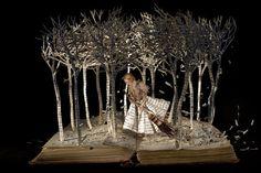 Su Blackwell Creates 3D Fairytale Dioramas Out Of Books
