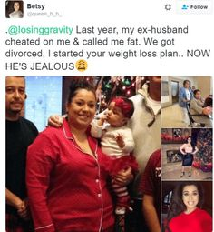 Woman's 'revenge' on ex-husband who cheated on her & called her fat goes viral Ex Husband Quotes, Husband Meme, Crazy Ex Quotes, Old People Jokes, Roommate Pranks, Awkward Texts, Funny Texts, Cheating Stories, Wife Memes