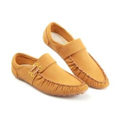 $25.33 Preppy Style Imitated Leather Non-Slipping Sole Casual Shoes For Men