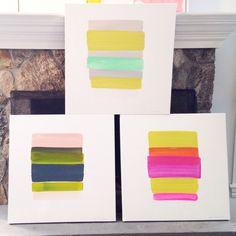 Summer stripes  Kerri Rosenthal ART