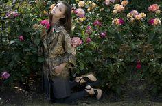 #Prints #Coat Eugene Lin. #Shoes Tessa Edwards.Photographer: Shiba Huizer. Styling & Creative Direction: Guy Hipwell