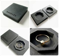 Cube octahedron ring set  (silver option) How cool is this. Not my look but I still like how unique it is.