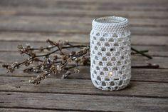 135 Besten Häkeln Windlicht Bilder Auf Pinterest Mason Jars