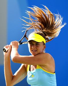 Daniela Hantuchova Quarter Final match during the AEGON Classic Tennis Tournament June 14, 2013 #Hantuchova #Birmingham