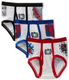 Boys #childrens #character/spiderman #briefs/underwear/pants - 3 ...