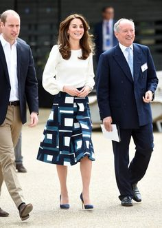 Pin for Later: Watch The Duchess of Cambridge Put Her Boxing Skills to the Test in London