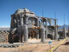 earthship homes taos nm windows - Google Search