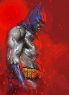 Batman by Gabriele Dell'Otto * Comic Book Heroes, Comic Books Art, Comic Art, Book Art, Im Batman, Batman Art, Batman Poster, Marvel Art, Superman