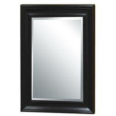 X Framed Mirror For Bathroom