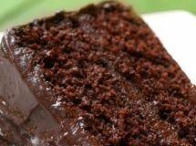 Bolo de Chocolate Bem Molhadinho