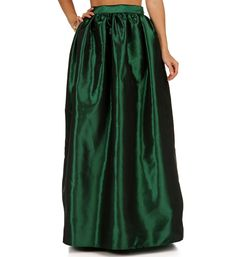 Emerald Grand Maxi Skirt
