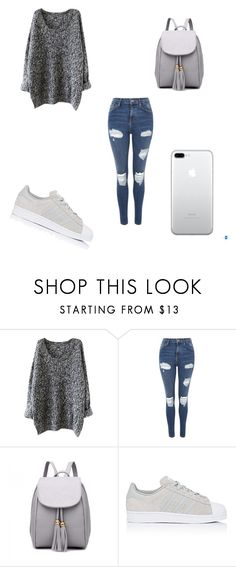 """Untitled #218"" by kaybabync on Polyvore featuring Topshop and adidas"