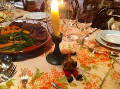 linda mesa de natal