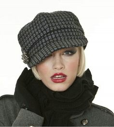 Perfect hat for short hair Ladies Winter Hats 5d7cf3d621cb