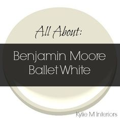 "benjamin moore paint colors. benjamin moore's ""ballet white"" oc9"