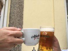 No borders for a Friendship #friendship #prague #firenze #caffe #birra #pivo #kava #ciofeca
