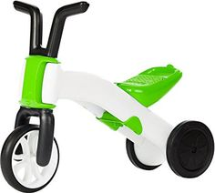 Chillafish BUNZI: 2-in-1 Gradual Balance Bike and Tricycle, Lime
