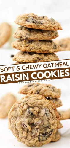 Give this quick and easy dessert idea a try! In less than 30 minutes, you're already sinking your teeth into these thick, soft, chewy oatmeal cookies loaded with cinnamon and raisins. What's not to love about this sweet treat? Best Cookie Recipes, Best Dessert Recipes, Easy To Make Desserts, Easy Desserts, Easy Homemade Cookies, Silicone Baking Sheet, Oatmeal Chocolate Chip Cookies, Teeth, Cinnamon