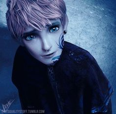 Punk Jack Frost. Oh dear lord. Look at those eyes, it's making me wanna cry