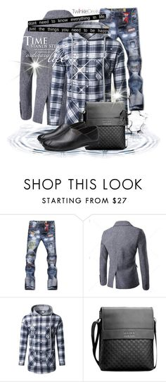 """""""II/14 Twinkledeals"""" by malasirena989 ❤ liked on Polyvore featuring men's fashion and menswear"""