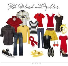 #Wonder what to wear for family pics?? This photography website has a couple color boards to help!