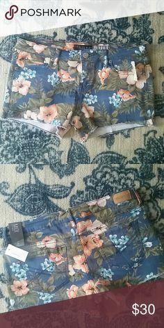 """NWT Floral Short NWT Cut off denim short 3 1/2"""" inseam Aeropostale Shorts"""