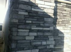 Stacked Ledge Stone (Color: Glacier) Stone Gallery, Manufactured Stone, Panel Systems, Galleries, Color, Colour, Colors