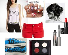 """""""One Direction Fangirl Party"""" by hpalazzo15 on Polyvore"""