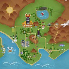 Johto Map Maarten Pelders